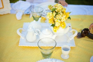 Yellow and White First Communion Party with Lots of Really Pretty Ideas via Kara's Party Ideas KarasPartyIdeas.com #firstcommunion #communionpartyideas #firstcommunionparty #partydecor #partyplanning #genderneutral (9)