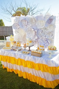Yellow and White First Communion Party with Lots of Really Pretty Ideas via Kara's Party Ideas KarasPartyIdeas.com #firstcommunion #communionpartyideas #firstcommunionparty #partydecor #partyplanning #genderneutral (32)