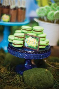Dinosaur themed birthday party with lots of awesome ideas via kara's party ideas! full of decorating ideas, dessert, cake, cupcakes, favors and more! KarasPartyIdeas.com #dinosaurparty #dinoparty #dinosaurcake #partystying #partydecor #partyideas (10)