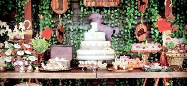 Horse Themed Birthday Party Via Karas Ideas Karaspartyideas Horses Horseparty