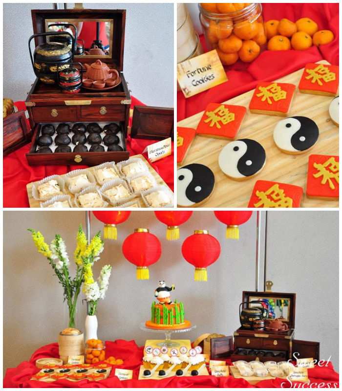 Home Decorating Ideas With An Asian Theme: Kara's Party Ideas Chinese Inspired Kung Fu Panda Themed