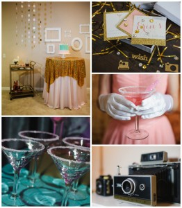 """Mad Men"" 60's Style 30th Birthday Party Full of Fabulous Ideas via Kara's Party Ideas 