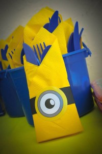Despicable Me Minion themed birthday party via Kara's Party Ideas | Games, decor, cakes, party supplies, and MORE! KarasPartyIdeas,com #minionparty #minions #despicableme #despicablemeparty #partyplaning #partyideas #partystlying #partydecor (8)