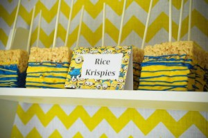 Despicable Me Minion themed birthday party via Kara's Party Ideas | Games, decor, cakes, party supplies, and MORE! KarasPartyIdeas,com #minionparty #minions #despicableme #despicablemeparty #partyplaning #partyideas #partystlying #partydecor (5)