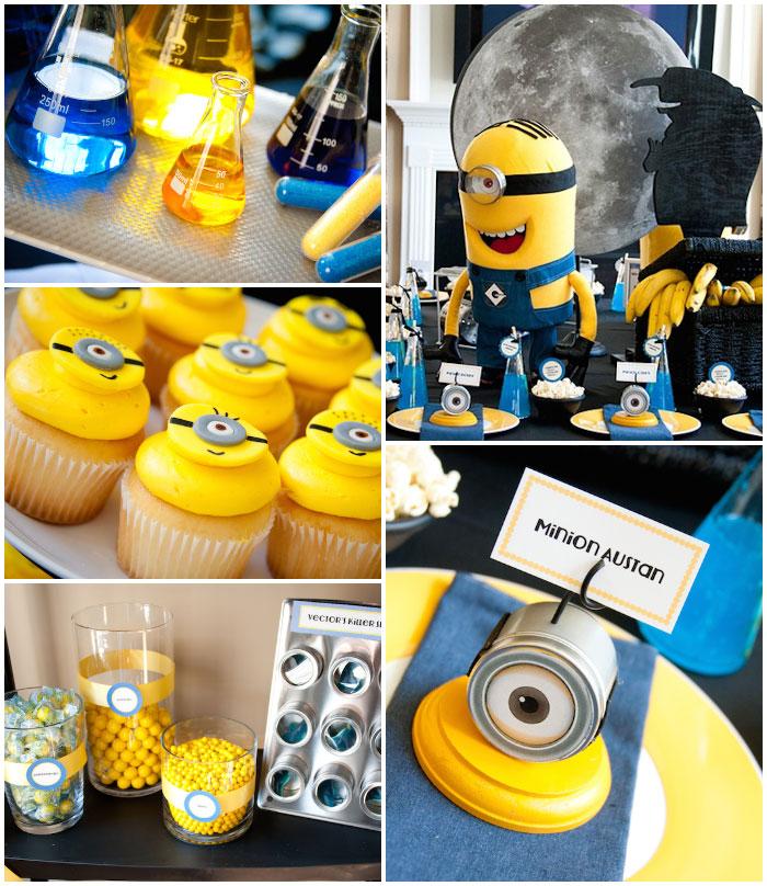 Kara's Party Ideas Despicable Me Minion themed birthday ...