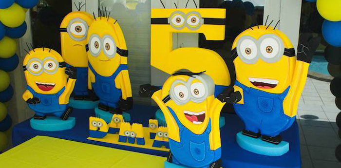 kara 39 s party ideas despicable me minion themed birthday. Black Bedroom Furniture Sets. Home Design Ideas