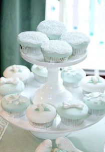 Mint and White Bird Themed Baptism Party with SUCH DARLING IDEAS via Kara's Party Ideas! full of decorating ideas, dessert, cake, cupcakes, favors and more! KarasPartyIdeas.com #baptism #baptismparty #birdparty #baptsimsdesserttable #birdbaptism #whitecake #partyideas #partyplanning (11)