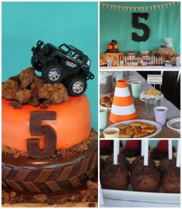 Monster Truck themed birthday party with lots of awesome ideas via Kara's Party Ideas KarasPartyIdeas.com #monstertruck #monstertruckparty #partyideas (2)