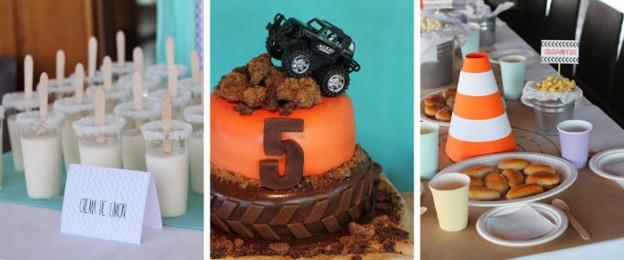 Monster Truck themed birthday party with lots of awesome ideas via Kara's Party Ideas KarasPartyIdeas.com #monstertruck #monstertruckparty #partyideas (1)