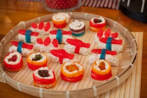 Ninjago themed birthday party with Lots of Really Fun Ideas via Kara's Party Ideas Kara's Party Ideas | Cake, decor, cupcakes, games and more! KarasPartyIdeas.com #ninjaparty #ninjagoparty #legoparty #legopartyideas #ninjago #boyparty #partyideas (37)