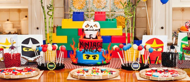 Ninjago themed birthday party with Lots of Really Fun Ideas via Kara's Party Ideas Kara's Party Ideas | Cake, decor, cupcakes, games and more! KarasPartyIdeas.com #ninjaparty #ninjagoparty #legoparty #legopartyideas #ninjago #boyparty #partyideas (1)