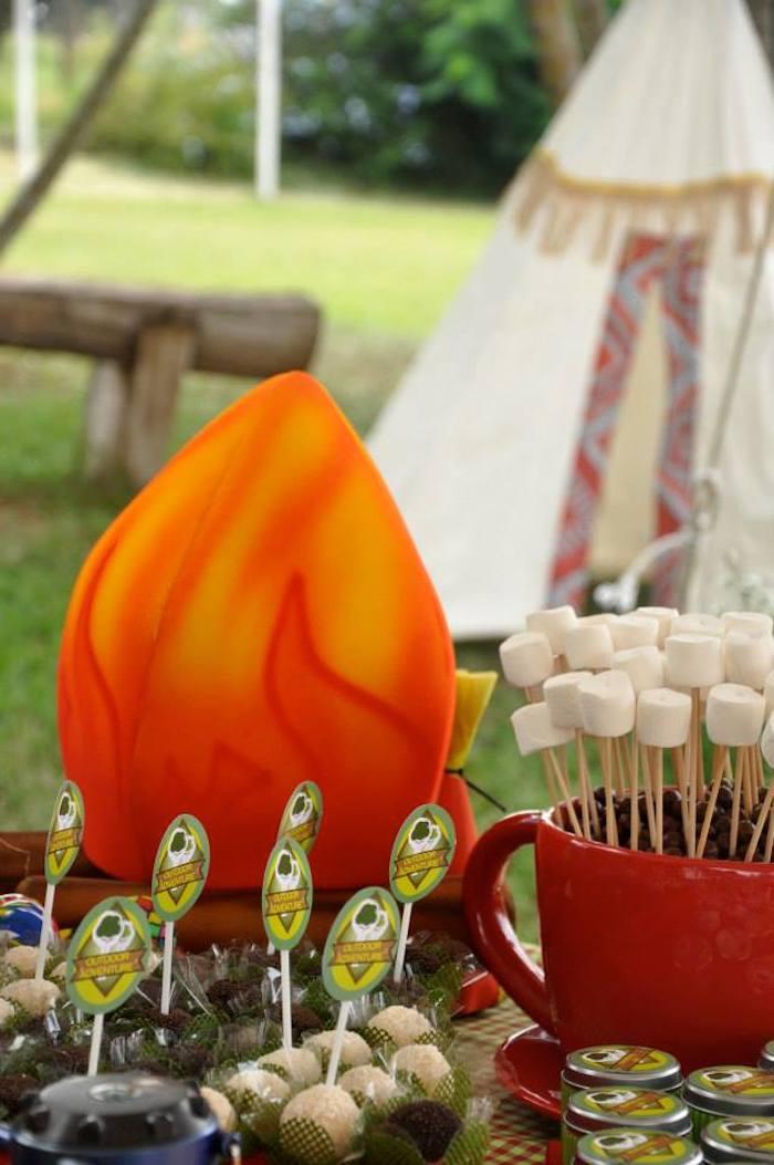 Kara S Party Ideas Outdoor Adventure Party Via Kara S