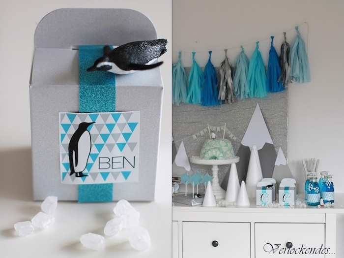 Arctic Penguin Themed Birthday Party With So Many Fabulous Ideas Via Karau0027s  Party Ideas Via Karau0027s