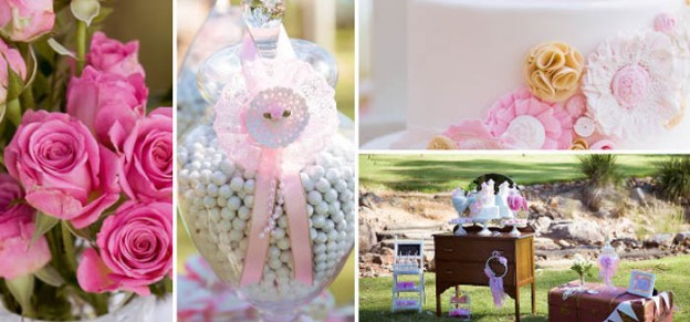 Vintage Princess themed birthday Tea Party with Lots of REALLY CUTE IDEAS via Kara's Party Ideas | Cake, decor, cupcakes, games and more! KarasPartyIdeas.com #vintageteaparty #princessteaparty #vintageprincessparty #teaparty #princessparty #partyideas #partydecor (1)