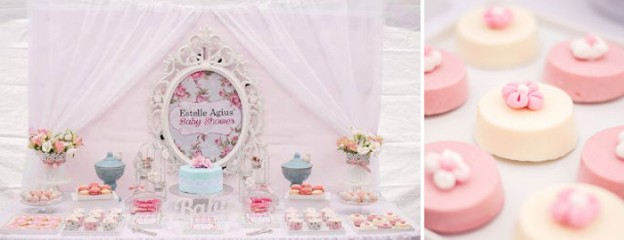 Shabby Chic Floral Baby Shower With So Many Precious Ideas Via Karau0027s Party  Ideas The Place