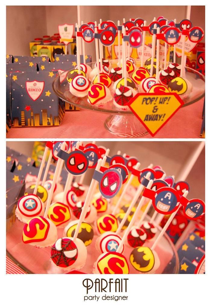 Superhero Themed Birthday Party Via Karas Ideas