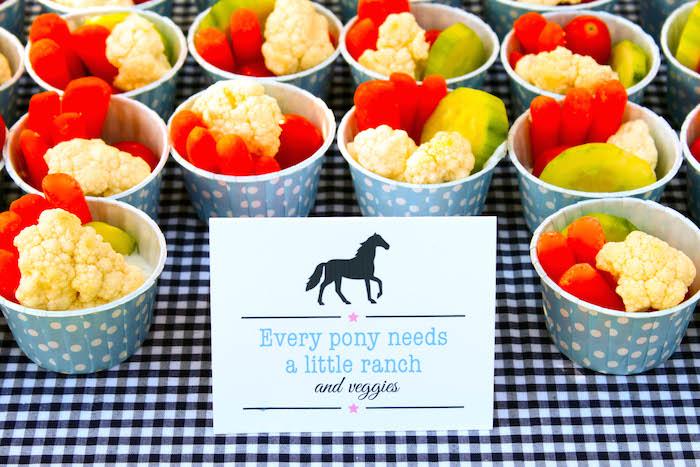Karas Party Ideas Pony Themed Birthday Via KarasPartyIdeascom Horse