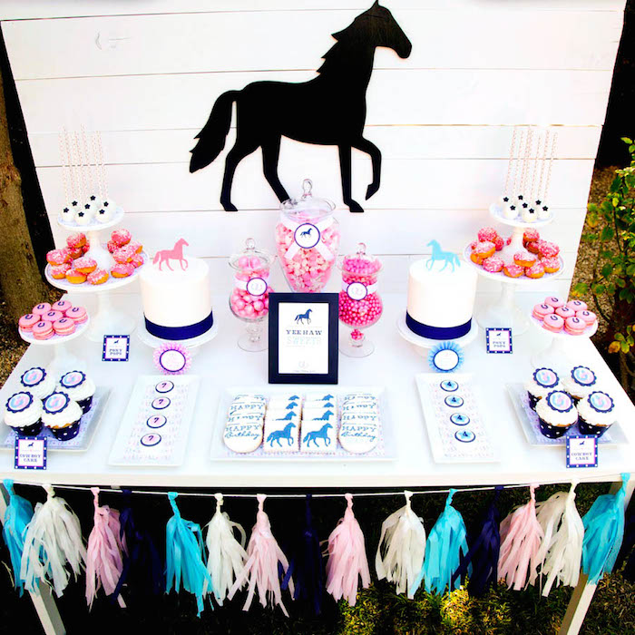 Kara S Party Ideas Pony Themed Birthday Party Via Kara S