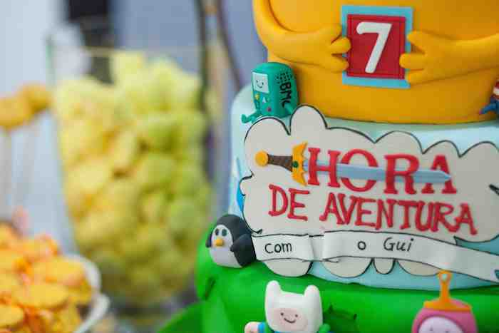 Adventure Time Themed Birthday Party