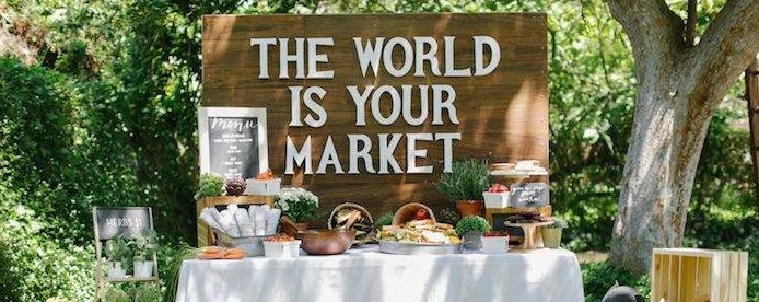 Kara S Party Ideas The World Is Your Market Graduation