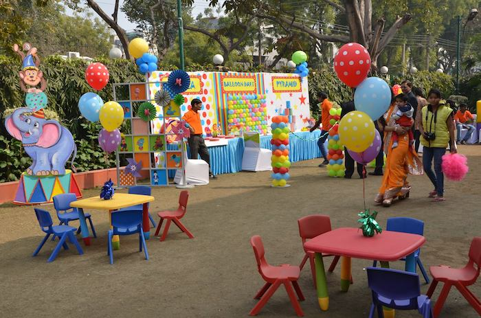 First Birthday Carnival Party With Lots Of Great Ideas Via Karas