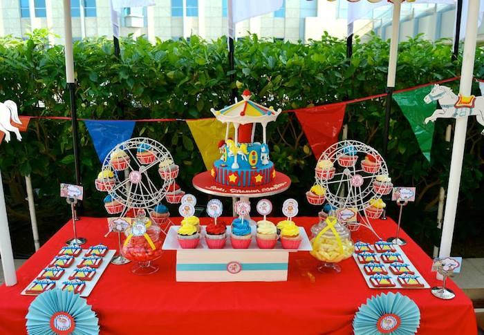 kara s party ideas carnival themed birthday party decor ideas