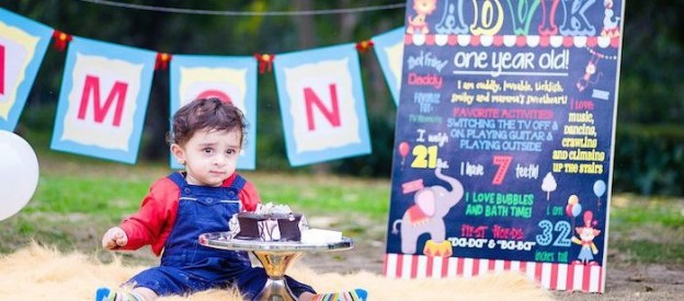 magical carnival themed birthday party via Kara's Party Ideas KarasPartyIdeas.com