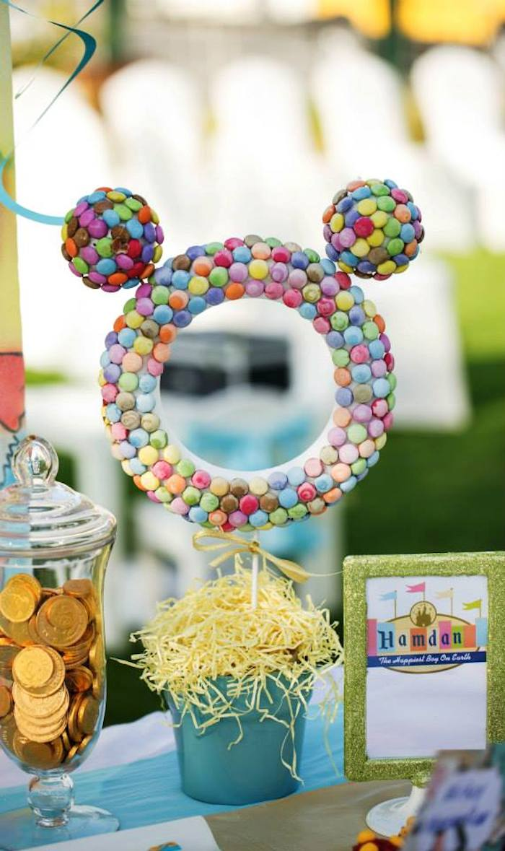 Kara S Party Ideas Disneyland Themed Birthday Party Via