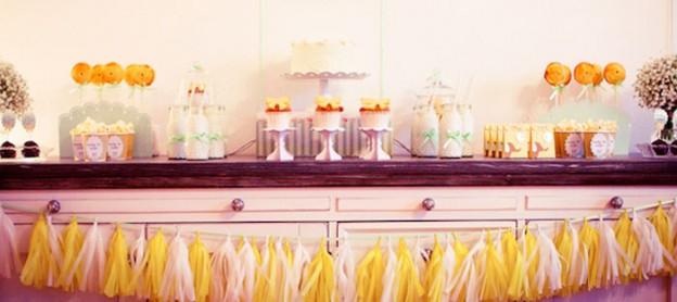Shabby Chic Elephant Baby Shower with So Many Really Cute Ideas via Kara's Party Ideas | Cake, decor, cupcakes, games and more! KarasPartyIdeas.com #elephantbabyshower #elephantparty #partydecor #partystyling #eventstyling (2)