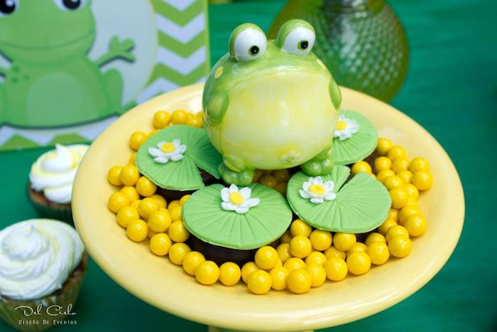 Frog Themed Birthday Party With So Many Cute Ideas Via Kara S Full Of