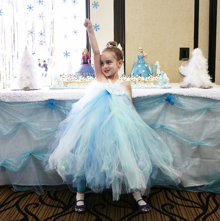 frozen themed birthday party with lots of really cute ideas via karas party ideas full