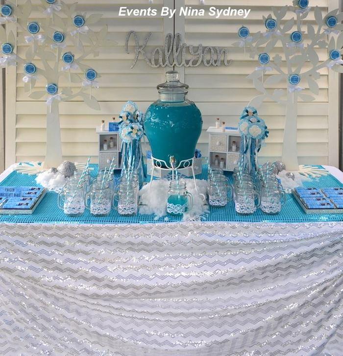 Kara's Party Ideas Frozen Princess themed birthday party ...
