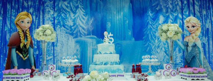 Kara S Party Ideas Frozen Birthday Party Ideas Decor