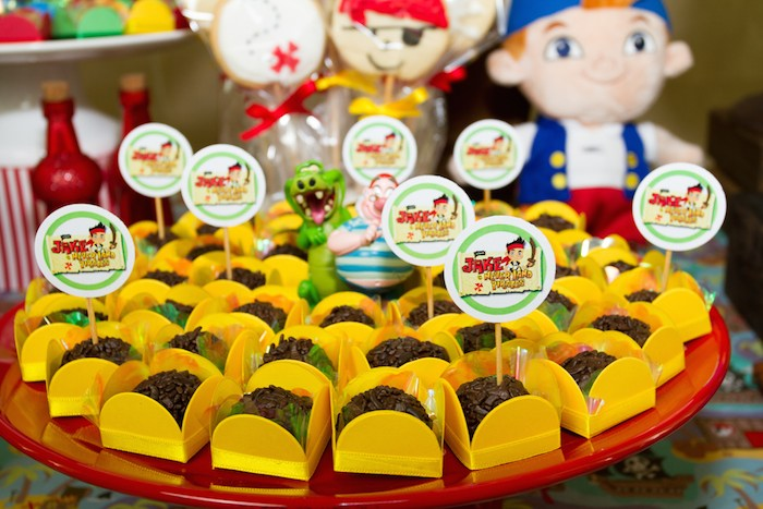 Jake And The Neverland Pirates Themed Birthday Party With Lots Of Really Great Ideas Via Karas