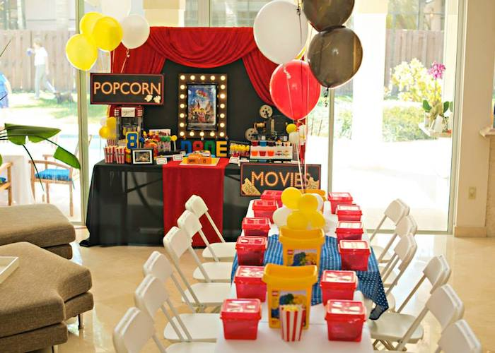 Kara S Party Ideas 187 Lego Movie Themed Birthday Party With