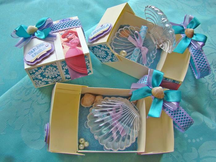 Kara's Party Ideas The Little Mermaid themed birthday party via ...