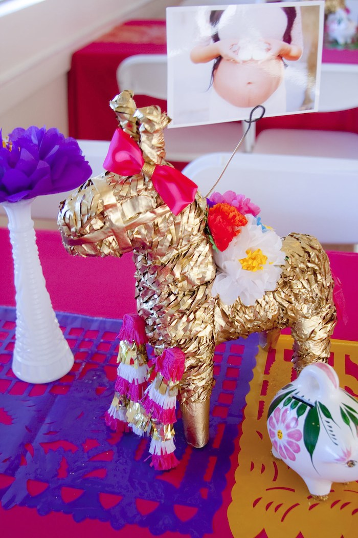 Ideas Adornos Baby Shower.Kara S Party Ideas Colorful Mexican Themed Baby Shower