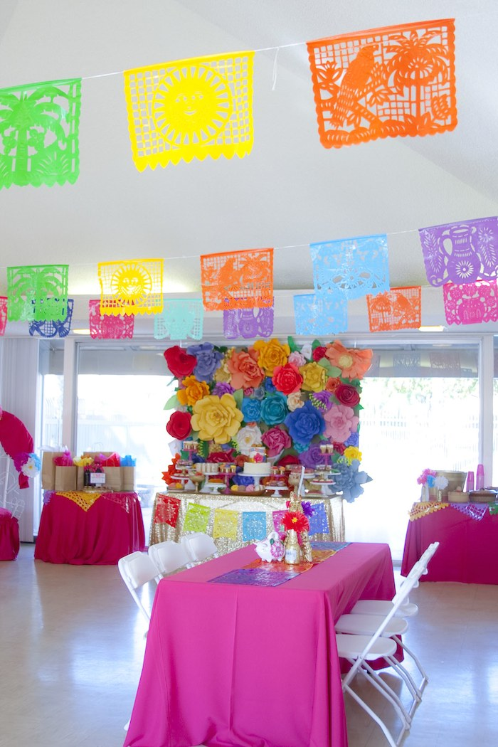 Ideas Decorativas Para Baby Shower.Kara S Party Ideas Colorful Mexican Themed Baby Shower