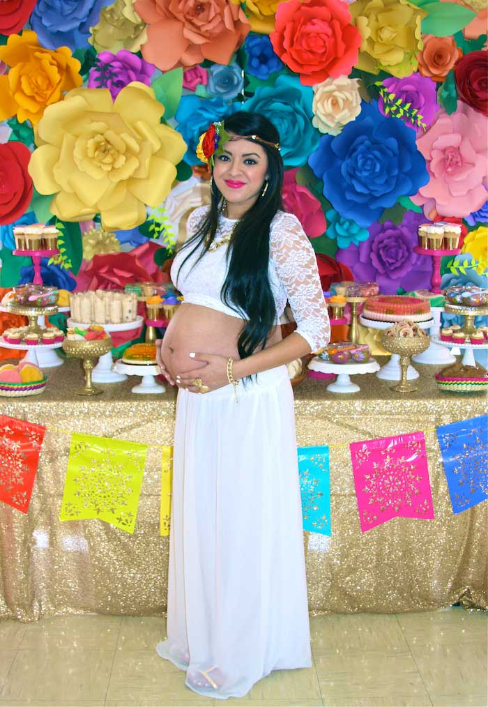 Kara S Party Ideas Colorful Mexican Themed Baby Shower Via