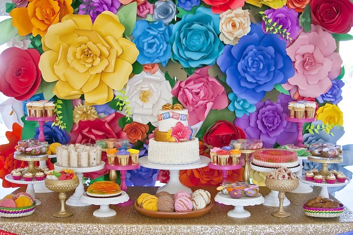 3016c40fe7e6 Colorful Mexican Themed Baby Shower with Lots of Really Fun Ideas via  Kara s Party Ideas!