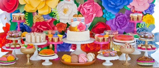Colorful Mexican Themed Baby Shower with Lots of Really Fun Ideas via Kara's Party Ideas! Full of decorating tips, desserts, cupcakes, cakes, recipes, favors,games, and MORE! #mexicanfiesta #latinparty #fiesta #colorfulfiesta #partyideas #partydecor #eventstyling #partystyling (2)