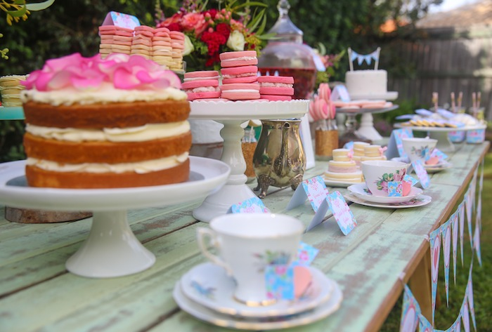 Kara 39 s party ideas mother 39 s day afternoon tea party for High tea party decorations