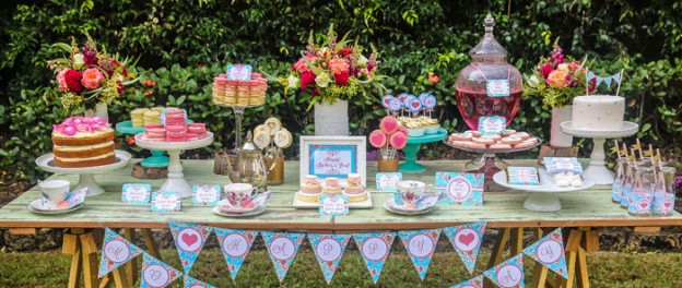 Mother's Day Afternoon Tea Party Dessert Table with Such Gorgeous Ideas via Kara's party ideas! full of decorating ideas, dessert, cake, cupcakes, favors and more! KarasPartyIdeas.com #mothersdayparty #mothersday #teaparty #mothersdayteaparty #partyplanning #partystyling #partydecor #eventstyling #partyideas #partydesign (2)