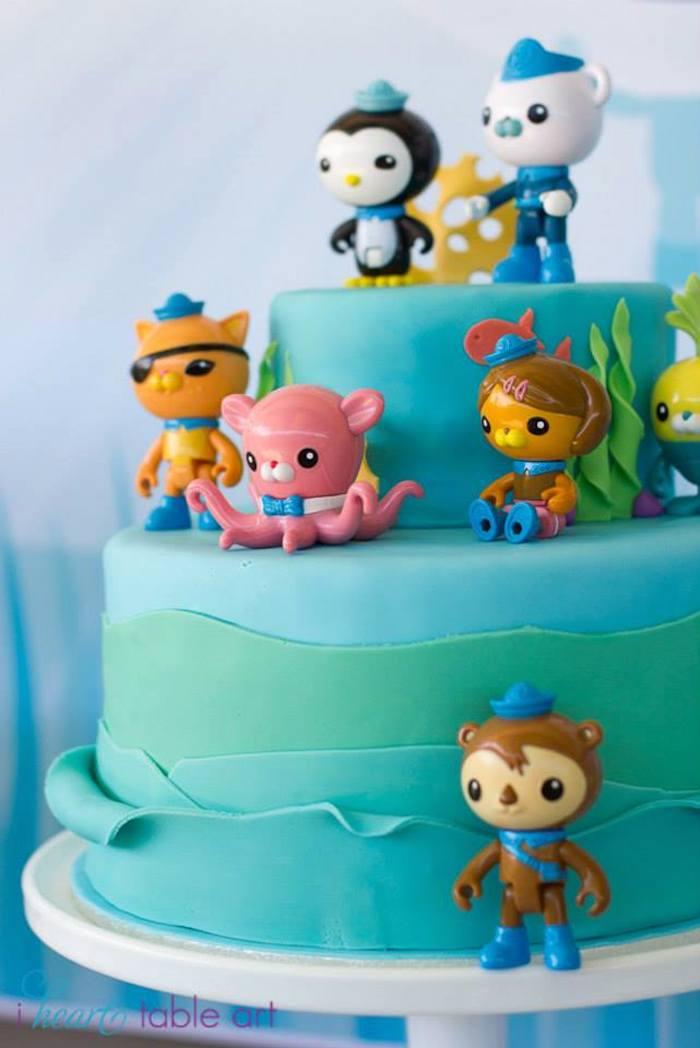 Kara S Party Ideas Octonauts Themed Birthday Party Via