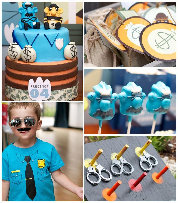 Kara's Party Ideas Policeman Themed Birthday Party Via