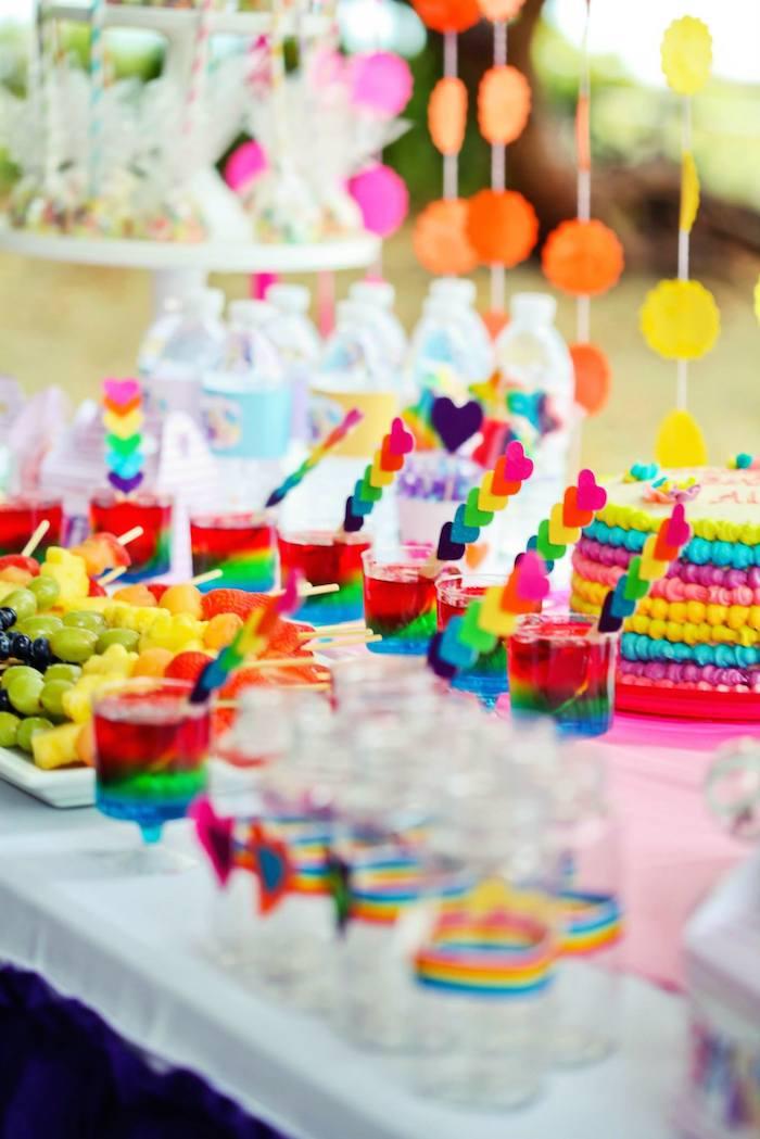 My Little Pony Rainbow Themed Birthday Party Full Of REALLY CUTE IDEAS Via Kara S