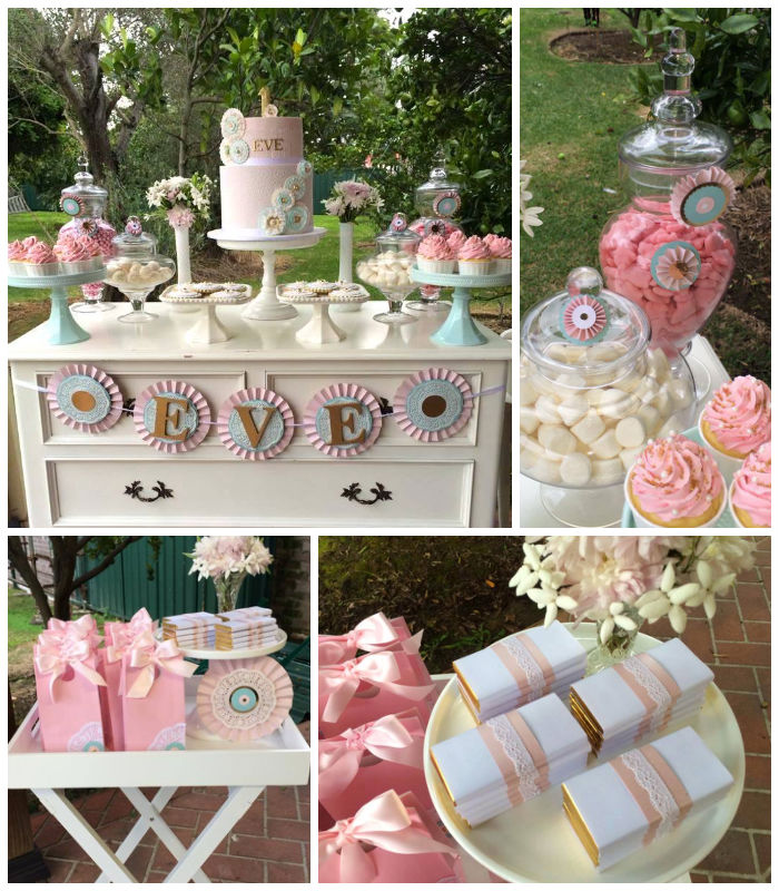 The Best Party Games For Baby S First Birthday: Kara's Party Ideas » Rosette Themed 1st Birthday Party Via
