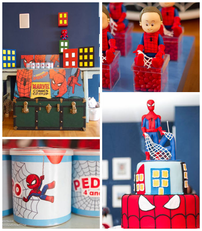 Karas Party Ideas Spiderman themed birthday party Full of Fun