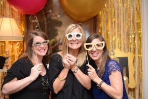 Pink, Gold, and Old 30th birthday party with Lots of Fabulous Ideas via Kara's Party Ideas | Cake, decor, desserts, cupcakes, games, and more! KarasPartyIdeas.com #adultbirthdayparty #30birthday #partydecor #partyideas #partyplanning #pinkandgold #partystyling (11)