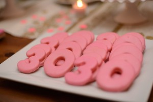 Pink, Gold, and Old 30th birthday party with Lots of Fabulous Ideas via Kara's Party Ideas | Cake, decor, desserts, cupcakes, games, and more! KarasPartyIdeas.com #adultbirthdayparty #30birthday #partydecor #partyideas #partyplanning #pinkandgold #partystyling (4)